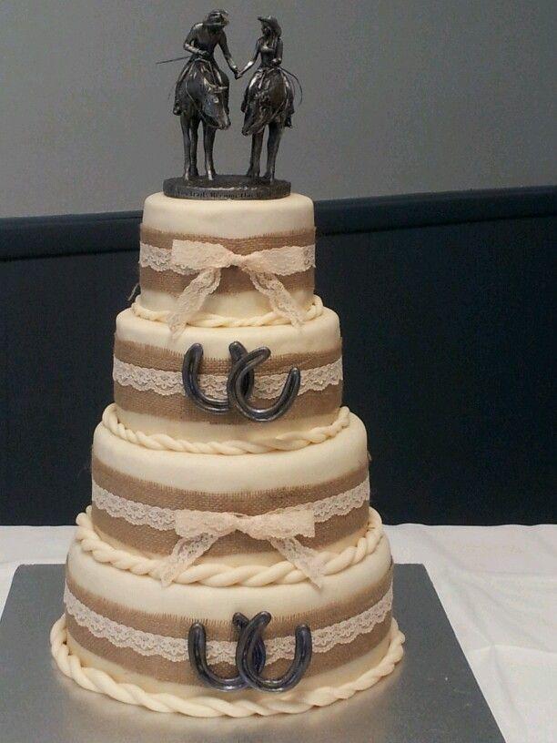 Enchanting Cowboy Themed Wedding Cakes Image Collection - Wedding ...