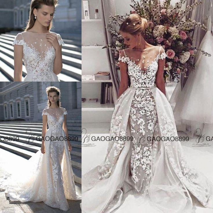 Wedding dress with detachable skirt junglespirit Gallery