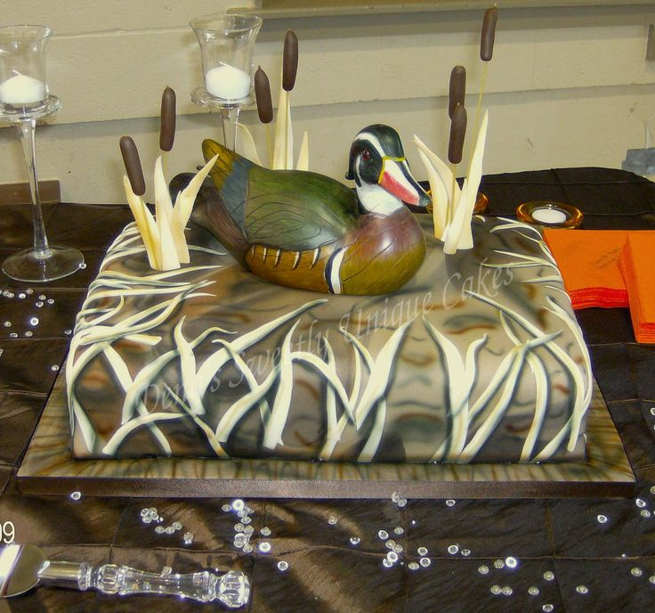Duck Hunting Wedding
