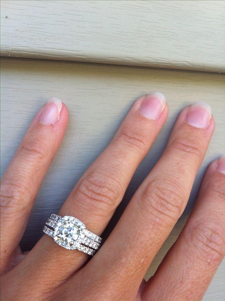Five Stone Diamond Halo Wedding Anniversary Ring 255 Tcw Seven