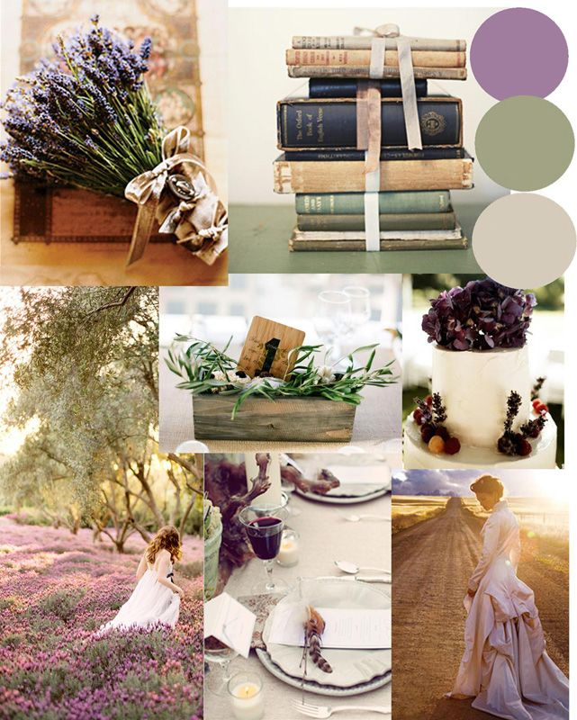 Lavender Gray Wedding