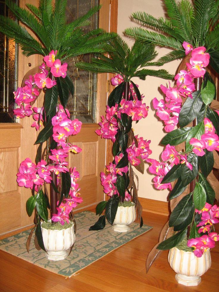 Luau Wedding Reception Wedding Decor Ideas