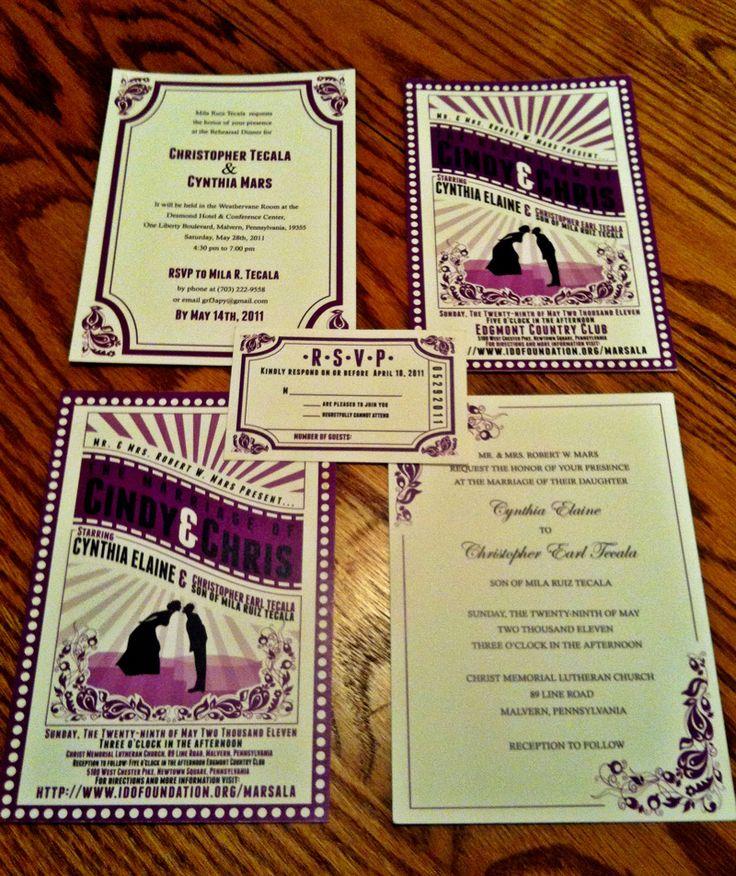 Wedding Movie Theme Gallery - Wedding Decoration Ideas