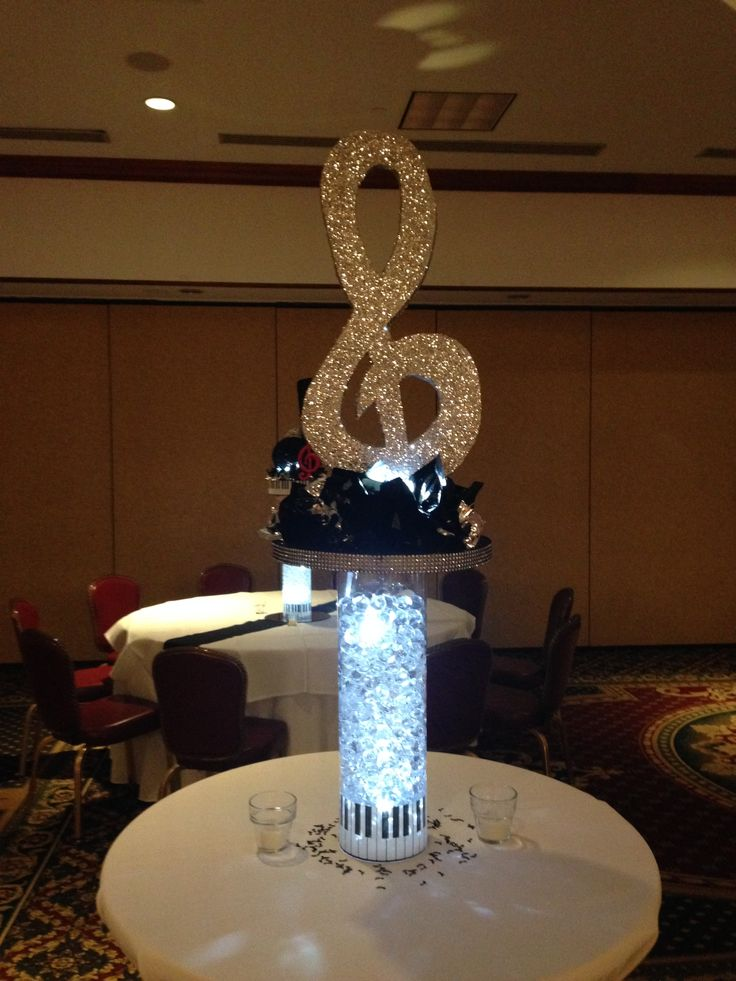 Music Themed Centerpieces For Weddings