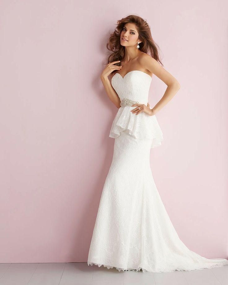 1000 Ideas About Peplum Wedding Dress On Emasscraft Org