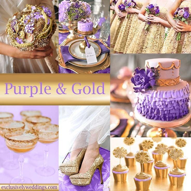 1000 Ideas About Purple Gold Weddings On Emasscraft Org