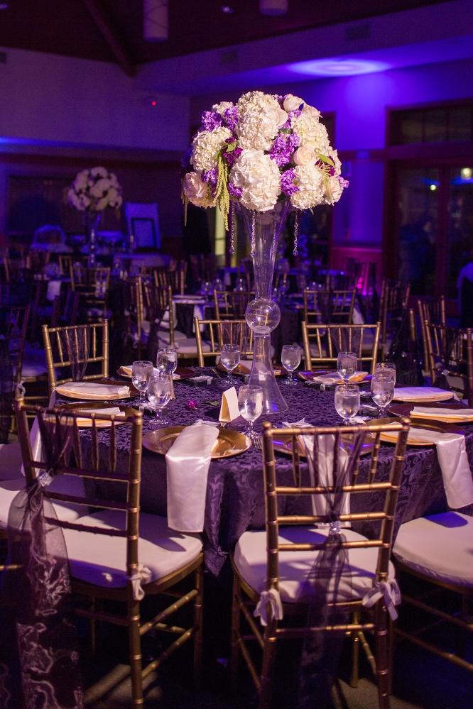 Wedding Theme Purple And Gold Images - Wedding Decoration Ideas