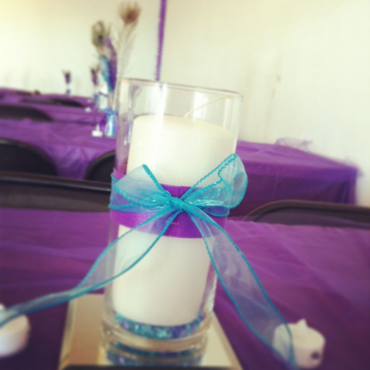 Purple And Turquoise Wedding Ideas