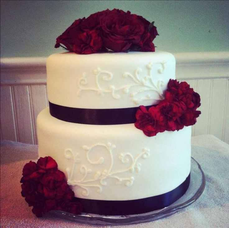 Wedding Cake Two Layer