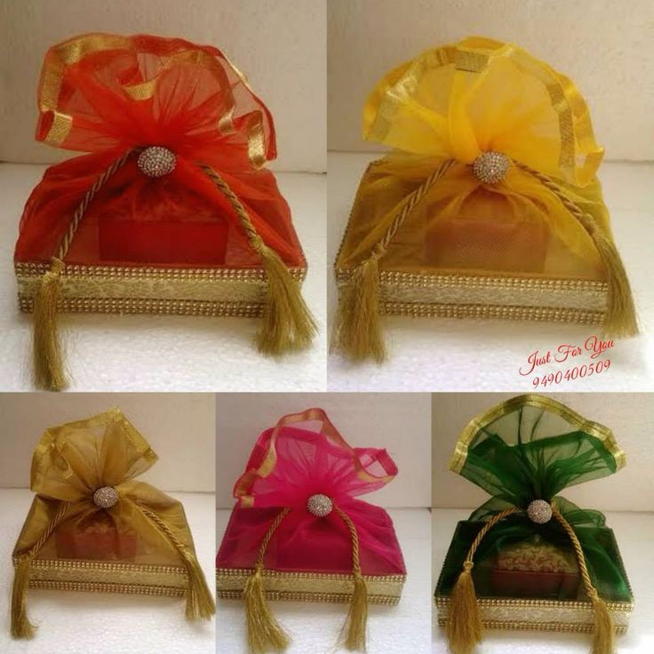 Gift Ideas For Indian Wedding: Gift Wrapping For Indian Wedding