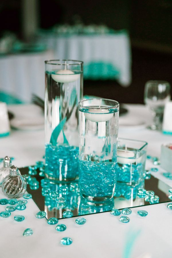turquoise wedding decoration ideas