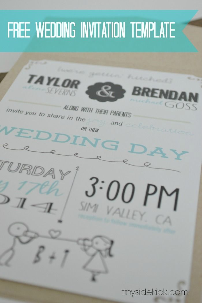Organization Wedding Invitation Kevincoynepagetk - Wedding invitation templates: free printable wedding templates for invitations