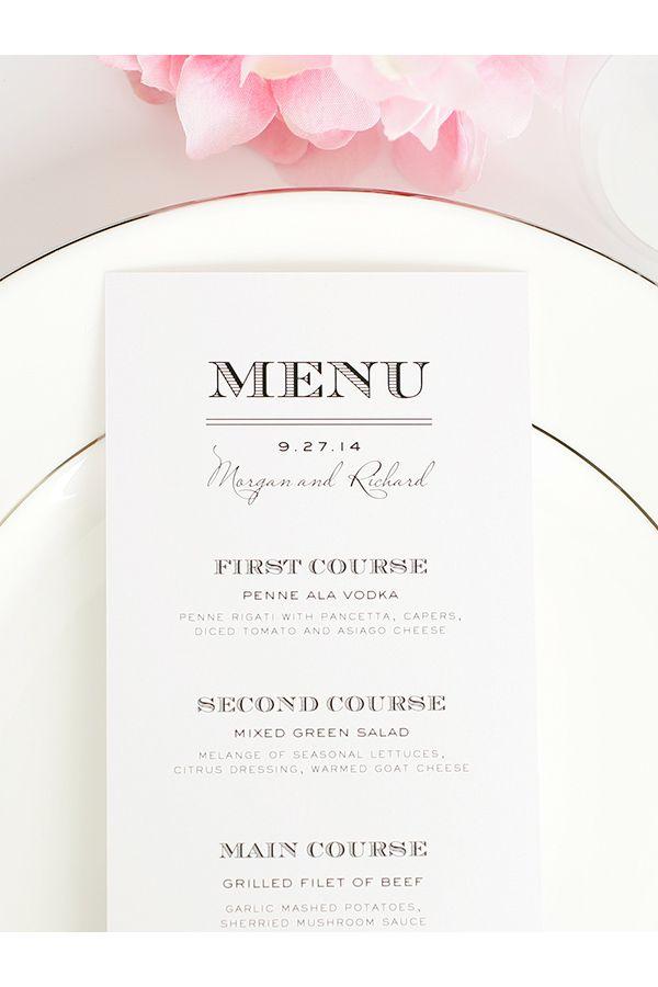 Wedding menu design ideas 1000 ideas about wedding menu cards on emasscraft org junglespirit Image collections