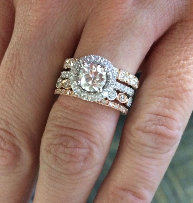 Unique Stackable Wedding Rings