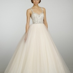 Glitter Tulle Wedding Dress