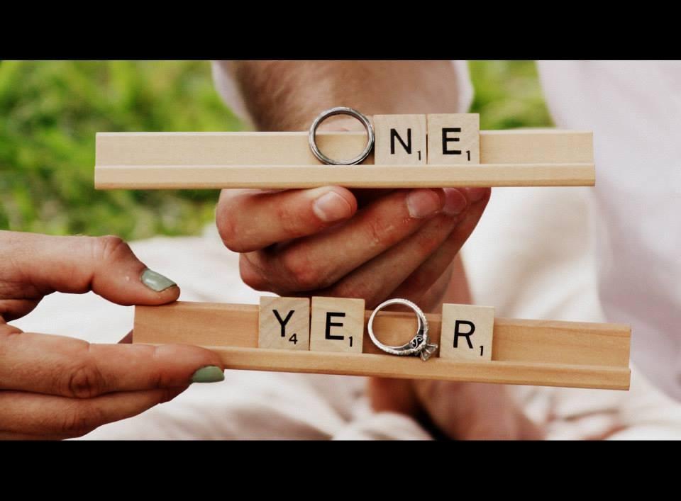 Ideas for 1 year wedding anniversary