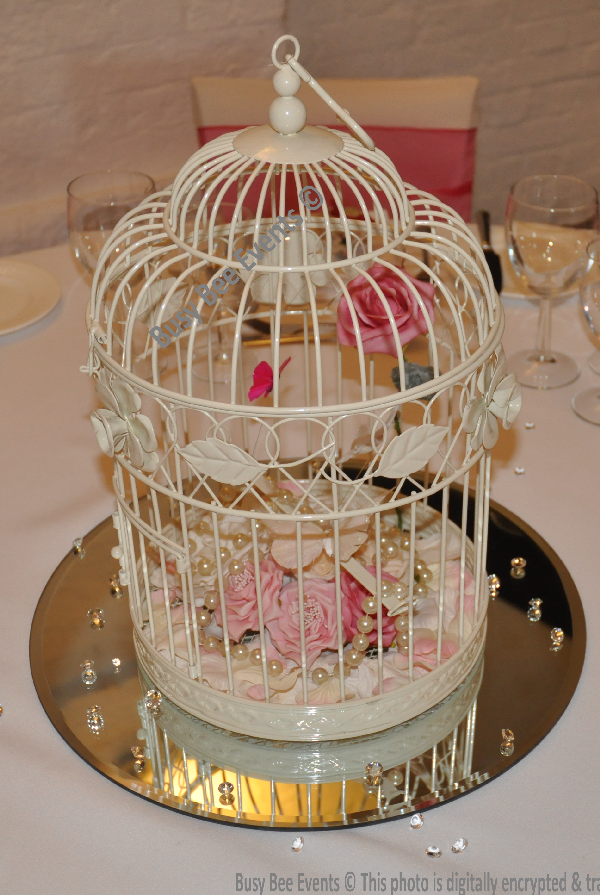Wedding Table Centerpieces Bird Cages
