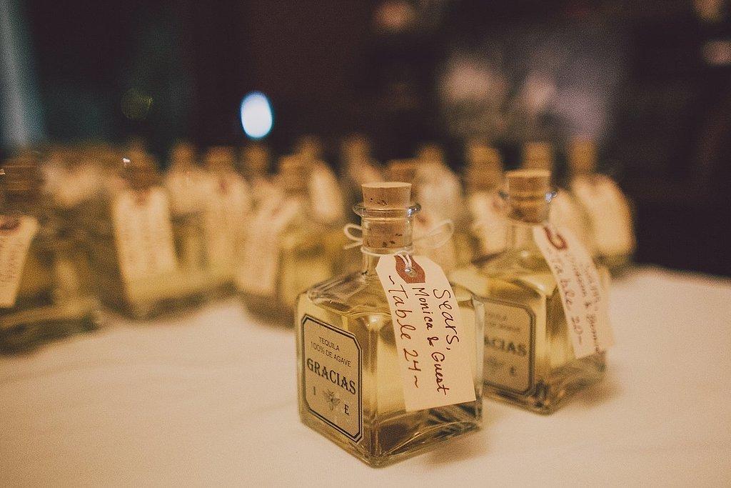 Miniature Liquor Bottles Wedding Favors