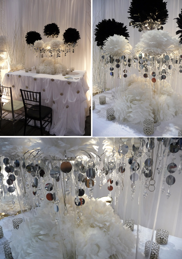 Stunning Wedding Centerpieces With Feathers Pictures - Styles ...