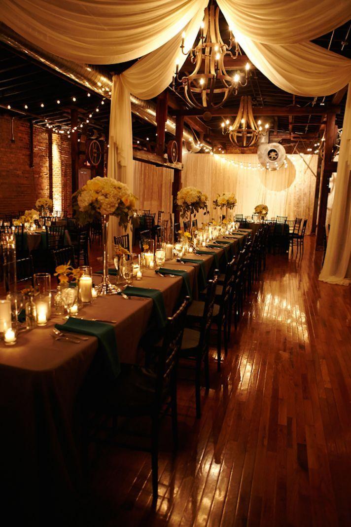 Indoor Wedding Lighting Ideas