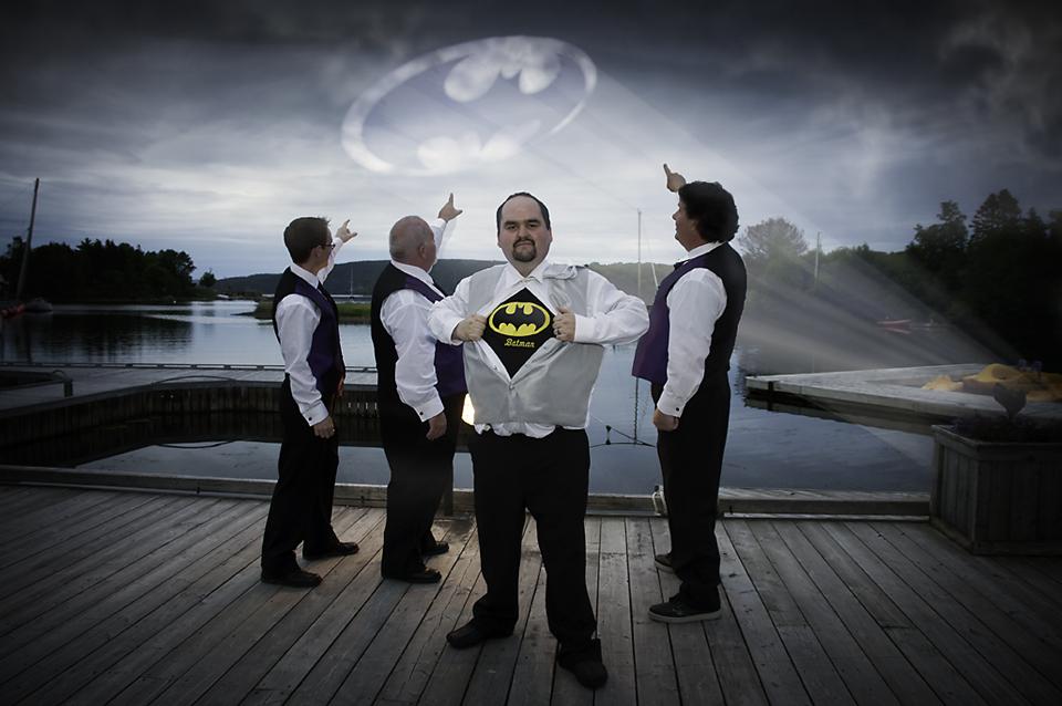 Batman Themed Wedding