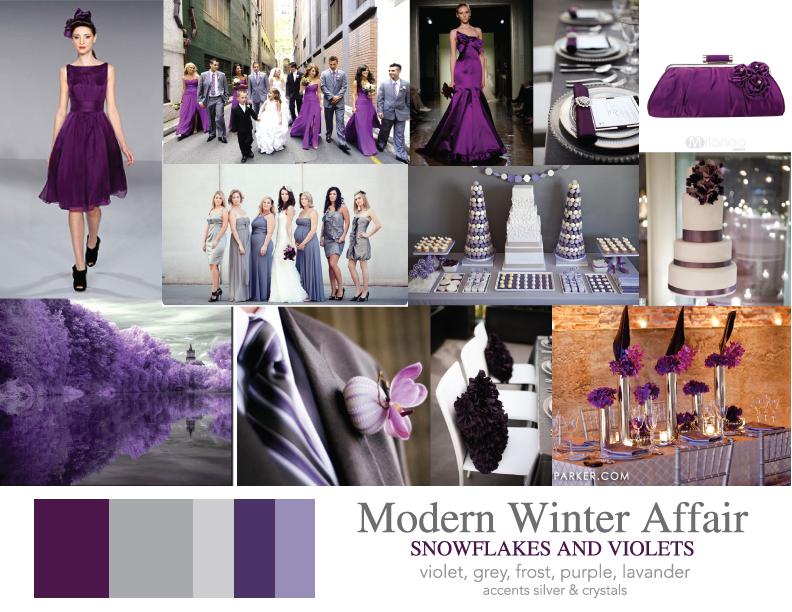 Winter Wedding Theme Colors Gallery - Wedding Decoration Ideas