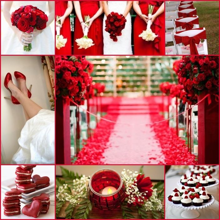 Red And White Wedding Theme Pictures Image collections - Wedding ...
