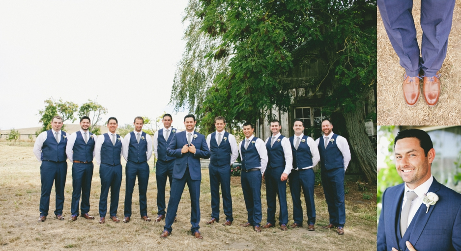 Navy Blue Suits For Wedding