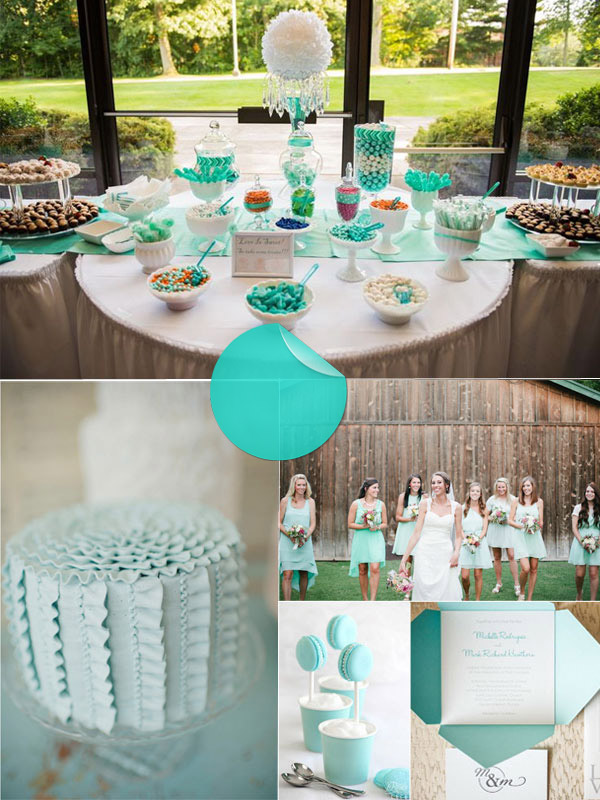 Tiffany Blue Wedding Ideas Wedding Decor Ideas
