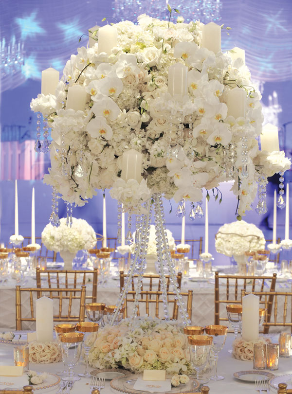 1000 Images About Wedding Center Pieces On Emcraft Org Gold And White Theme