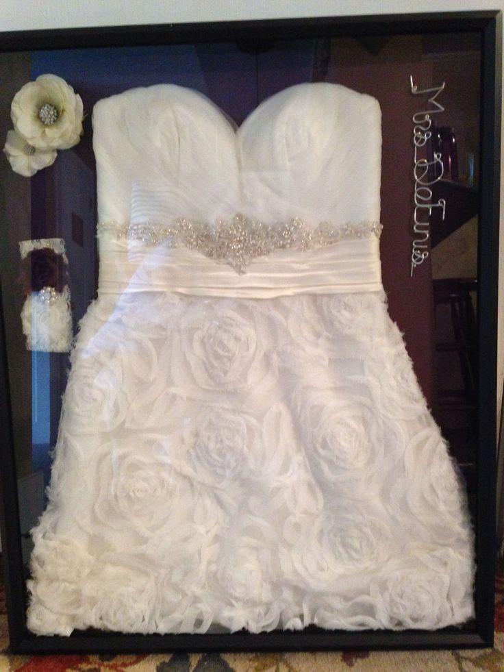 Best Shadow Box Wedding Dress Contemporary - Styles & Ideas 2018 ...