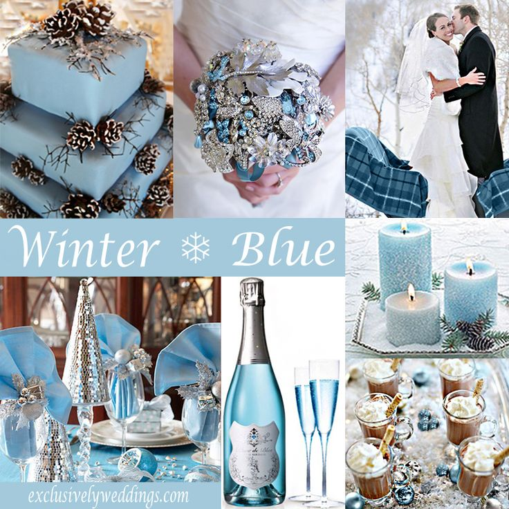Silver And Baby Blue Wedding Theme Unique Wedding Ideas
