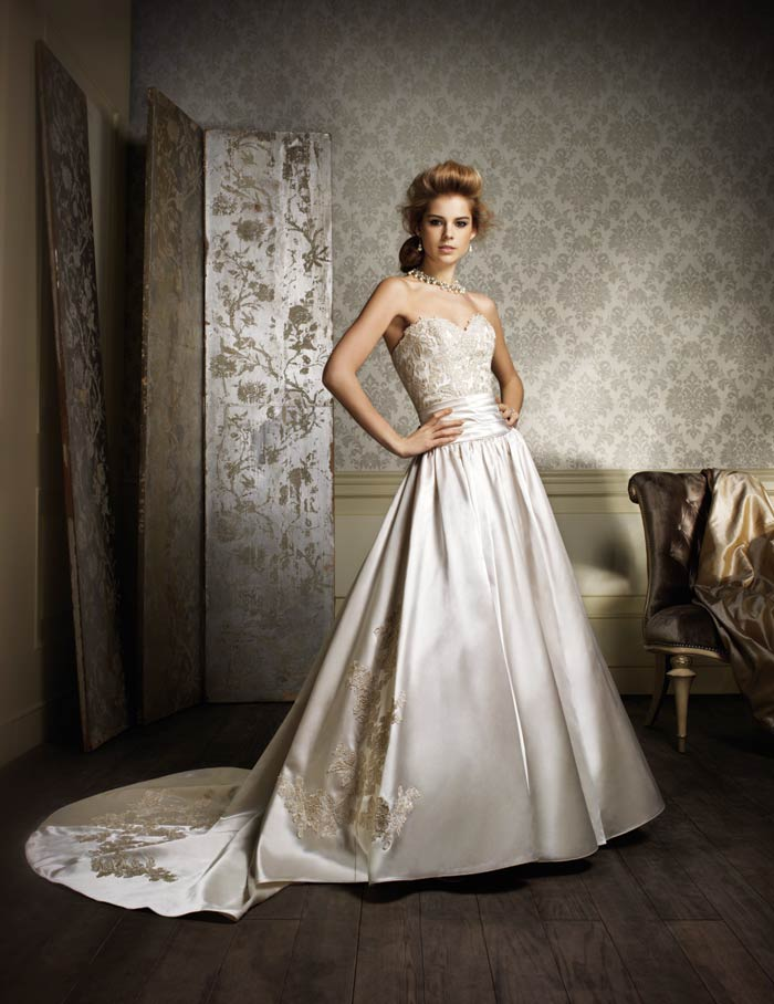 wedding dresses 2013 ball gown