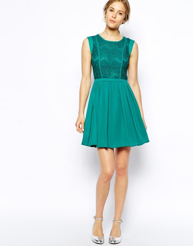 Teal Wedding Guest Dress – Dresses for Woman