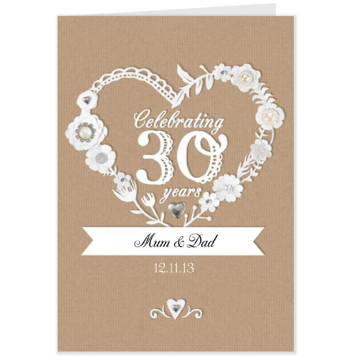What Is The 30th Wedding Anniversary Gift: Anniversary Gifts For 30th Wedding Anniversary
