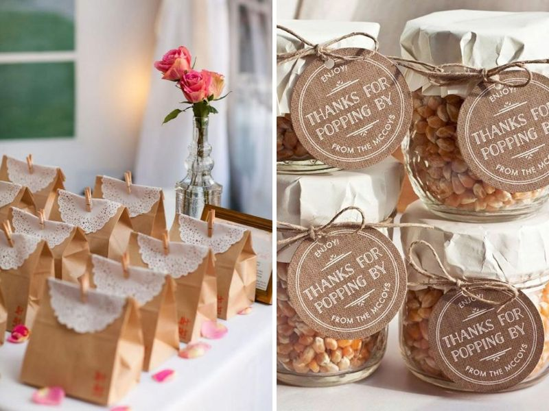 Vintage Wedding Party Favors