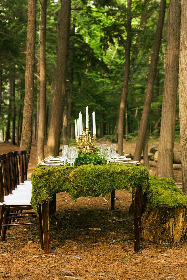 Woodland wedding ideas 35 dreamy woodland wedding table dcor ideas junglespirit Gallery