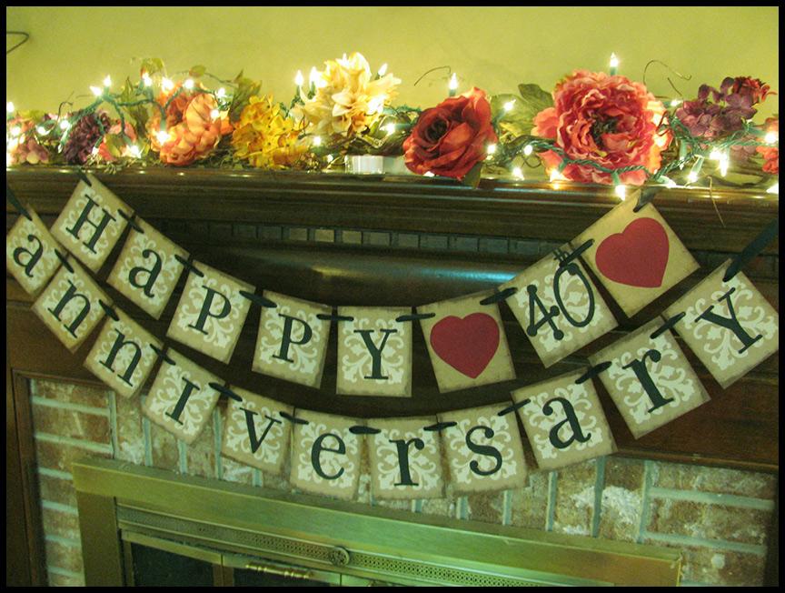 40th Wedding Anniversary Gift Ideas Parents: 40th Wedding Anniversary Gifts Parents