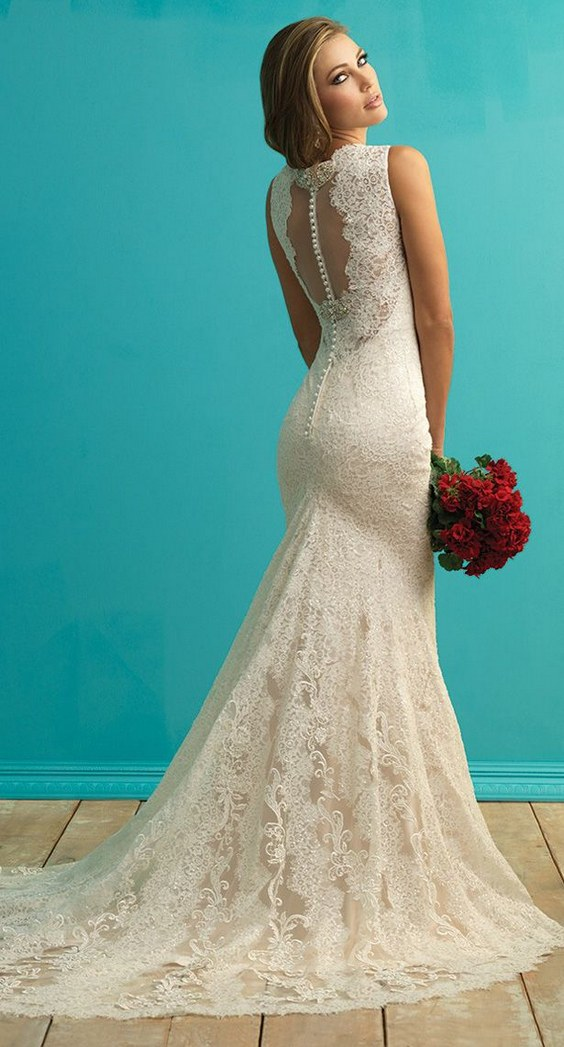 Lace wedding dress for Wedding dresses to die for