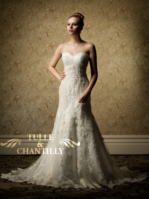 Wedding Dress Chicago Affordable : Affordable customised lace vintage wedding dresses tulle chantilly