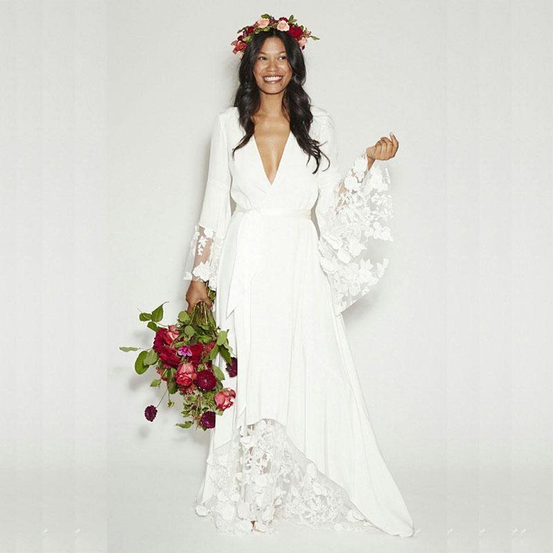 Vintage Hippie Wedding Dress – fashion dresses