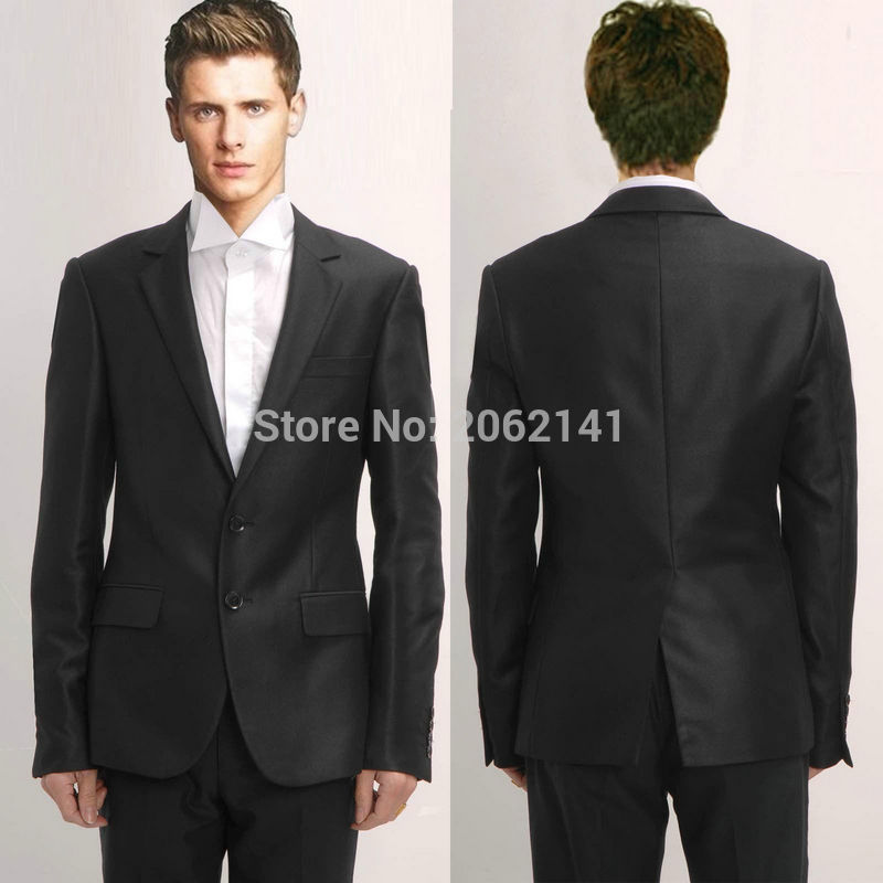 Black Wedding Suit