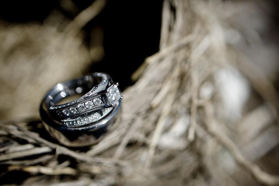 backyard country wedding rachel houston - Country Wedding Rings