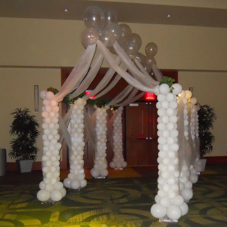 Wedding Balloon Decor Gallery - Wedding Decoration Ideas