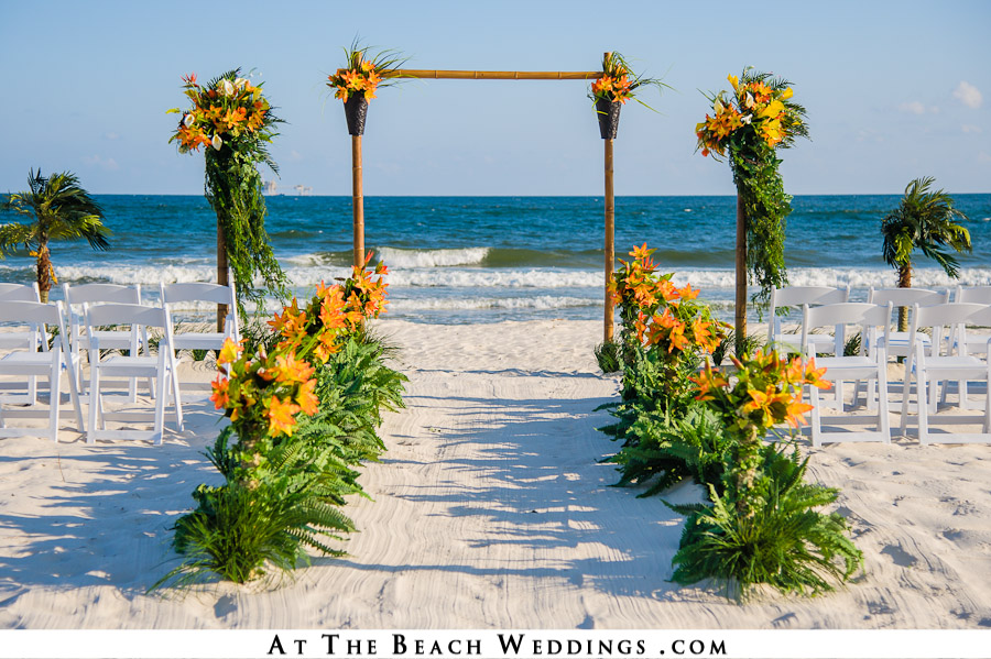 Beach Wedding Arch Decorations Images - Wedding Decoration Ideas