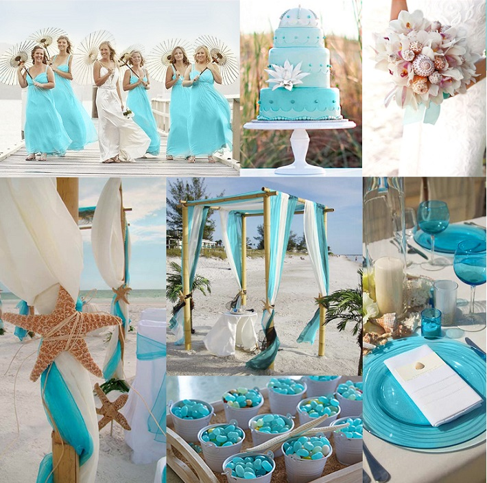 Beach Wedding Reception Ideas: Beach Wedding Theme Centerpieces