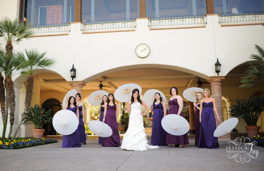 Purple Ideas For Weddings: Purple & Blue Wedding Ideas