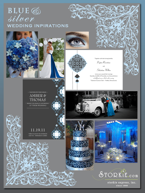 Awesome Blue And Silver Wedding Colors Images Styles Ideas 2018