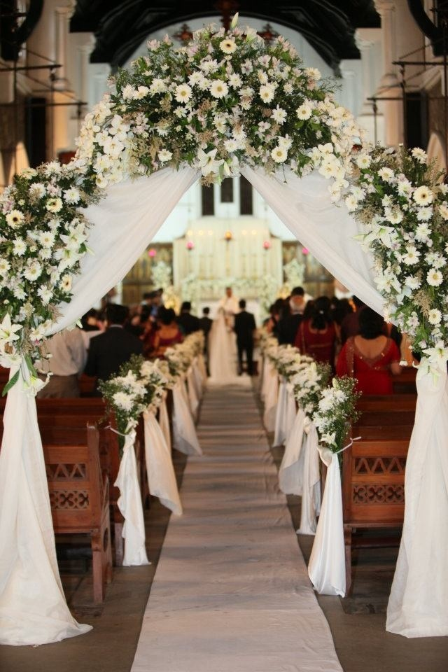 Ideas For Church Wedding Decorations