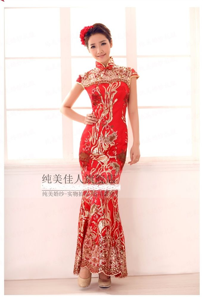 Chinese style wedding dress for Chinese style wedding dress